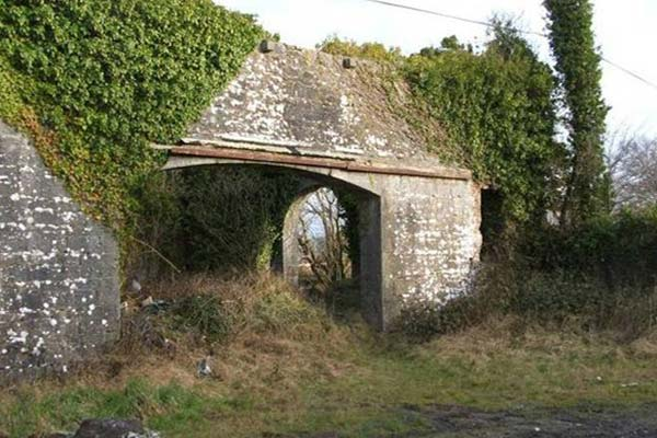educational tours architecture before restoration of storehouse ballyglunin station