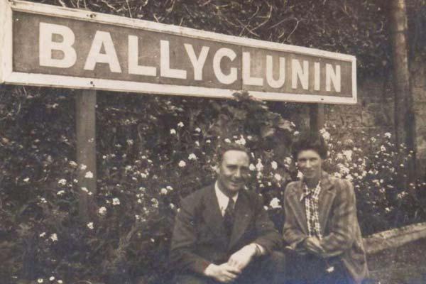 living history ballyglunin train station galway