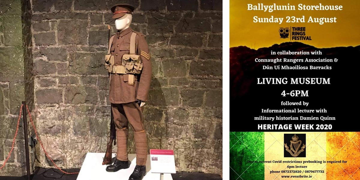 Uam's Three Rings Group In The Storehouse Ballyglunin Station Heritage Week 2020